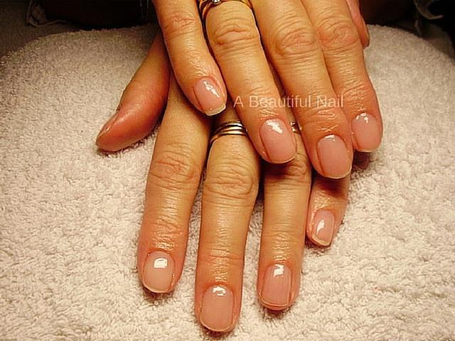 Manicure Blanke lak