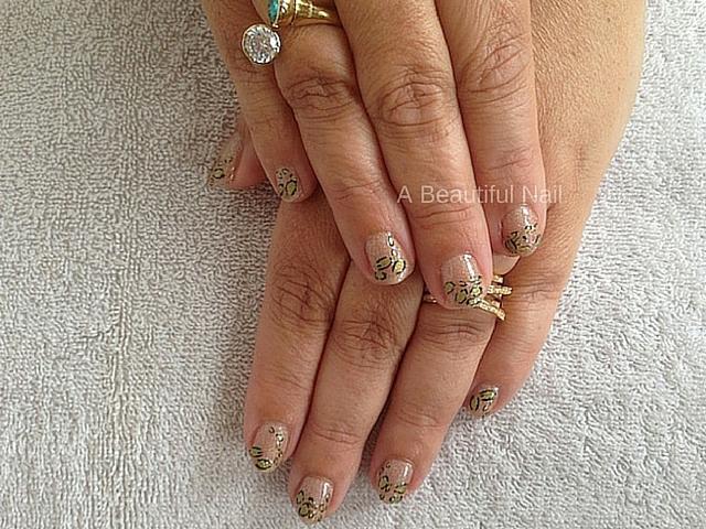 Tijger Nail-art