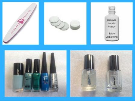 Zelf Nail Art op je nagels zetten #1 benodigheden