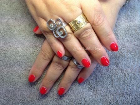 Zelf Nail Art zetten rode lak