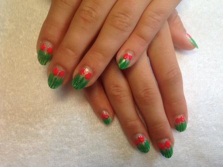 kinder-nail-art-gras-en-bloem