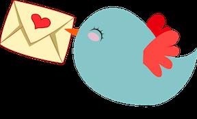 nagellak op envelop
