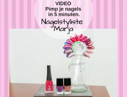 VIDEO: Pimp je nagels in 5 minuten. 3 Flesje nagellak mallen met voorbeelden mail art