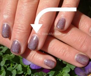 Korte nagels langer laten lijken voorbeeld