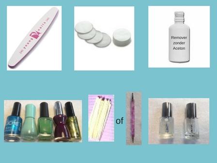 Stippen Nail Art- stap voor stap doe ik het voor , alle producten die je nodig hebt